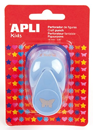 APLI Kids 13070 - Perforadora papel figura mariposa