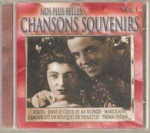 Nos Plus Belles Chansons Souvenir Vol 1