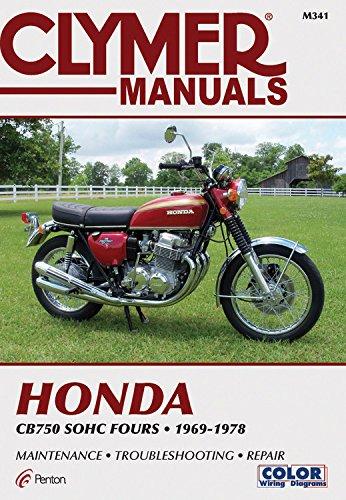Honda CB750 Sohc Fours 69-78 por Haynes