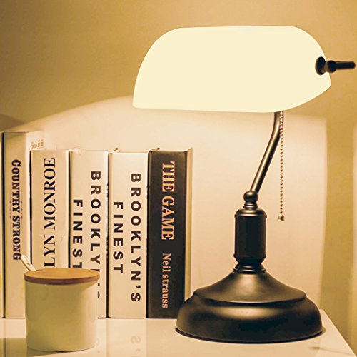 Amerikanisches Land Retro Lampe Chiang Republikaner Old Shanghai Bank Studie Lampe Schlafzimmer Nachttischlampe -