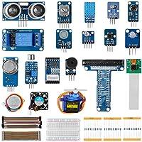LABISTS Starter Kit per Raspberry Pi e Arduino, 15 Progetti, 8 Sensori, Starter Kit per Principianti e Professionisti Fai-da-Te
