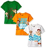 #3: Chhota Bheem Boys' T-Shirt (Pack of 3)