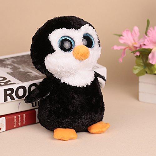Goolsky 20cm große Augen kleine Pinguin Plüschtier Stofftier Weihnachten und Geburtstagsgeschenk für - Plüschtiere Pinguin Große Augen