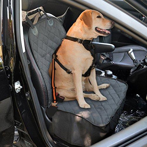 Hund Autositzbezug, Focuspet Hund Vordersitz Hundeschutzdecke  Autoschondecke wasserdichter kratzfester Hundedecke Auto Sitzabdeckung  Vordersitz mit ...