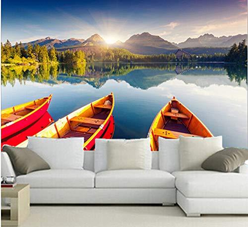 Mkkwp Benutzerdefinierte 3D Großes Wandbild, Natur Tapeten Tapete, Wohnzimmer Tv Wand Schlafzimmer Tapete-200Cmx140Cm