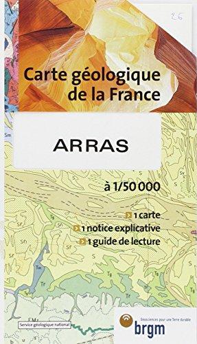 Carte géologique : Arras