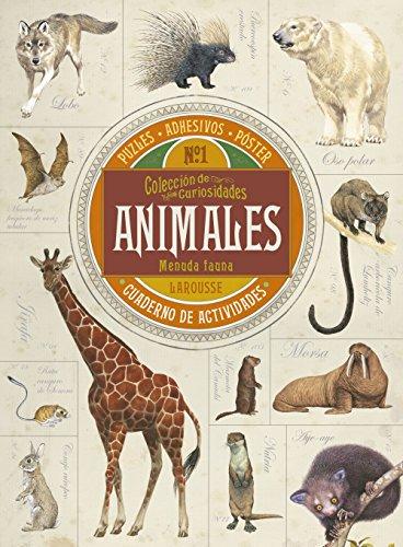 Colección de curiosidades. Animales (Larousse - Infantil / Juvenil - Castellano - A Partir De 8 Años)