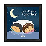 Best Frames With Quotes - Indigifts Valentines Day Lets Dream Together Quote Cute Review
