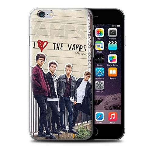 Offiziell The Vamps Hülle / Case für Apple iPhone 6 / Pack 5pcs Muster / The Vamps Geheimes Tagebuch Kollektion Band