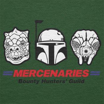 TEXLAB - Mercenaries - Herren T-Shirt Flaschengrün