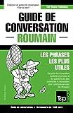 Telecharger Livres Guide de conversation Francais Roumain et dictionnaire concis de 1500 mots (PDF,EPUB,MOBI) gratuits en Francaise