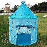 TING- Tente de jeux pour enfants Moelle de coeur de pêches roses et bleues Moisson de jouet ronde à l'intérieur et à l'extérieur pour les jouets (Il ne contient qu'une tente) ( Couleur : Bleu )