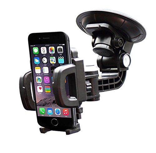 Gosin KFZ 360 Grad drehbar Halterung Universal Autohalterung mit Kugelgelenk für Handy/Smartphone iPhone, Samsung, und so weiter