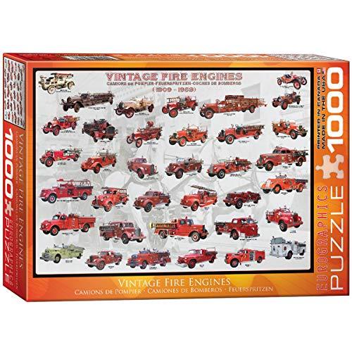Eurographics Vintage Fuoco Motori Puzzle (1000 Pezzi)