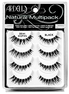 Ardell Wispies Multipack Lashes, Pack of 4