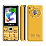 YUNTAB C333 2.4 Zoll 2G Mobile Phone Senior Android Smartphone Grosse Tasten SOS Golden