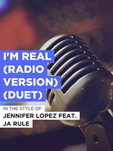 I'm Real (Radio Version) (Duet) im Stil von