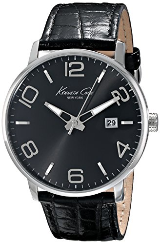 kenneth-cole-new-york-mens-kc8005-dress-sport-black-dial-black-strap-analog-watch