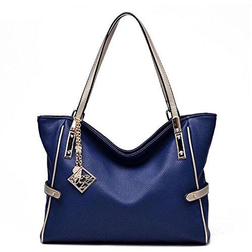 Frau Handtasche Art und Weise Frauschultertasche Messenger Bag treasures blue