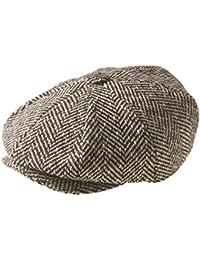 'Newsboy gorra plana de–' Peaky Blinders 'estilo, marrón Humbug