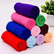ALOUD CREATIONS Microfiber Cleaning Cloth for Car, Kitchen, Bike, Laptop, LED TV, Mirrors and Furniture (Multi