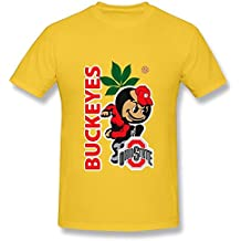 Huba Hombres de Tees Ohio State Buckeyes 2negro