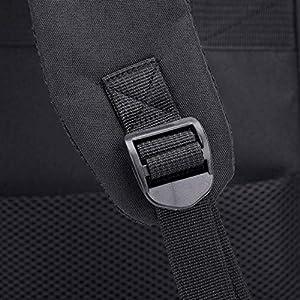 51OhraoBoRL. SS300  - BEIBAO Inteligente Mochila USB Recargable Shoulder Bag para Hombres y Mujeres 16.5 Pulgada Business Computer Bag (Gris…