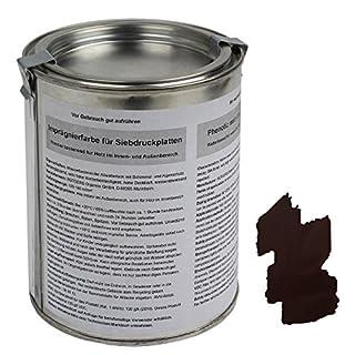 ALPIDEX Spezielle Imprägnierfarbe - Siebdruckfarbe für Siebdruckplatten 500 ml