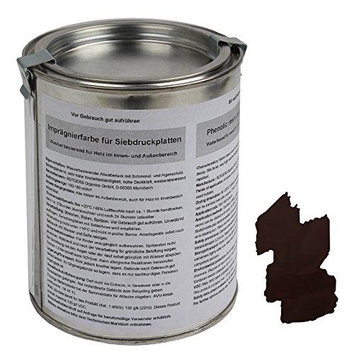 ALPIDEX Spezielle Imprägnierfarbe - Siebdruckfarbe für Siebdruckplatten 500 ml -