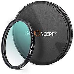 K&F Concept Filter Polarisant Filtre CPL 77 mm Nano-X MRC HD Super Mince Multicouche pour Appareil Photo Caméra Reflex Numérique Canon Nikon Sony Olympus