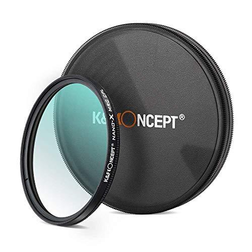 K&F Concept Filter Polarisant Filtre CPL 67 mm Nano-X MRC HD Super Mince Multicouche pour Appareil Photo Caméra Reflex Numérique Canon Nikon Sony Olympus