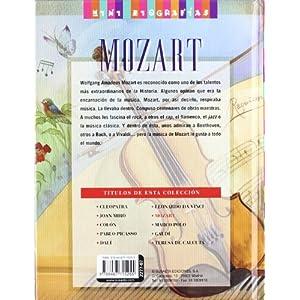 Mozart. El genio de la música (Mini biografías)