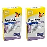 Freestyle Optium Beta-Ketone Test Strips 10 (Pack of 2)