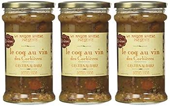 MAISON RIVIERE Substituts de Viande Coq au vin - bocal 760g - Lot de 3