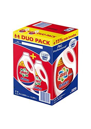 Ariel Lenkertasche Basico Flüssigwaschmittel 110d Box mit 2Flaschen
