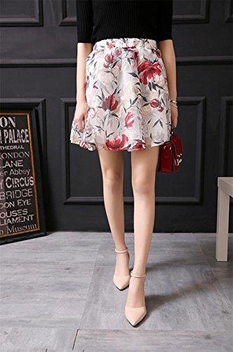 pengweiIl colore solido ha indicato con un fibbia di parola i sandali di modo della signora di estate apricot