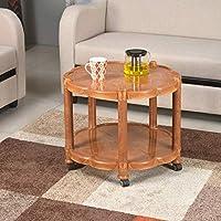 Nilkamal CENTBL3 Plastic Center Table (Pear Wood)