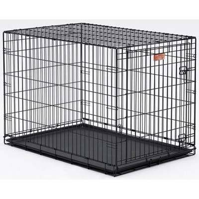 MidWest iCrate Folding Single Door Dog Crate by Mid-West Metal Products