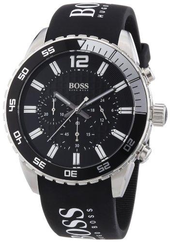 Hugo Boss Herren-Armbanduhr XL Chronograph Quarz Silikon 1512868