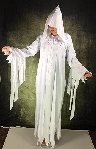 Imagen de sexy chica fantasma zombie disfraz segador sombrío disfraz de bruja halloween alternativa