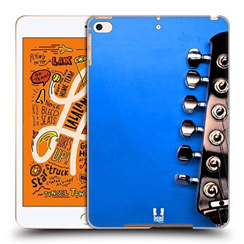 Head Case Designs Blau Elektrische Gitarre Harte Rueckseiten Huelle kompatibel mit iPad Mini (2019) (Case E-gitarren Harte)