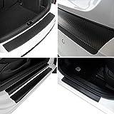 Tuneon Carbon-Folienset für Ladekanten & Einstiegsleisten für Mazda 6 GJ Kombi