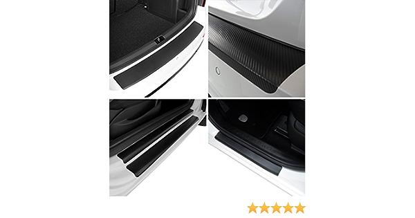 Tuneon Carbon Folienset Für Ladekanten Einstiegsleisten Für Polo 6r 5 Türer Auto