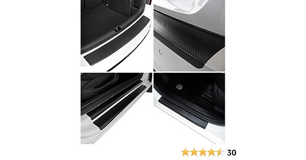 Tuneon Carbon Folienset Für Ladekanten Einstiegsleisten Für Golf 7 Auto