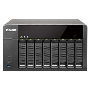QNAP TS-851-4G High Performance NAS-System mit On-the-fly für SOHO (8-Bay, 2,4GHz, 4GB, 3x USB 3.0, 2x USB 2.0)