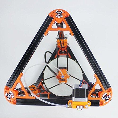 Sunlu - stampante 3d kossel delta, arancione, 1