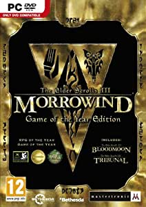 The Elder Scrolls III : Morrowind - game of the year edition [import anglais]