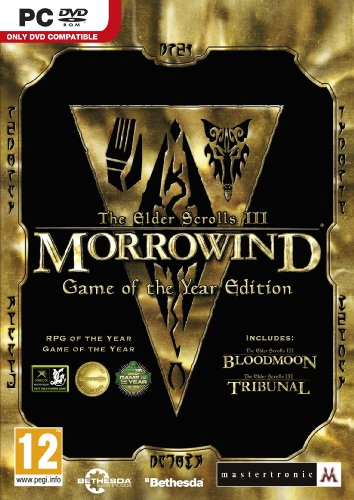 Elder Scrolls III Morrowind Game of the Year Edition PC DVD Game UK