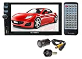 Sound Boss Combo of Bluetooth Car Video Player 7'' HD Touch Screen Stereo