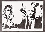 Legolas Herr Der Ringe (The Lord Of The Rings) Poster Plakat Handmade Graffiti Street Art - Artwork